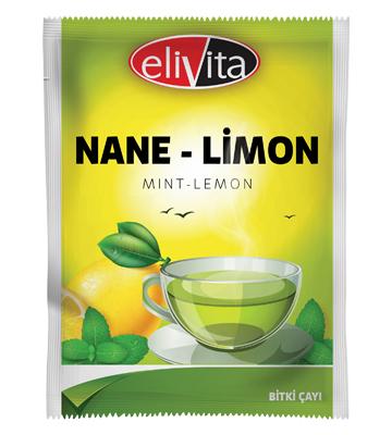 Elivita Nane-Limon Poşet Çayı